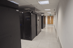 uk web hosting racks in DC